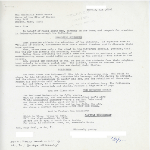 Correspondence between Mayor Kevin White and a woman in Mobile, Alabama