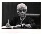 Thumbnail for Elreta Alexander presiding in court