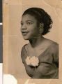 Portrait photograph of Naomi Goynes, 1955