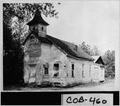 [Photograph of Old Friendship Church, Marietta, Cobb County, Georgia, ca. 1967]
