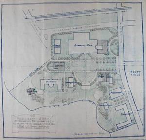 """Preliminary Study of Campus Development: Springfield YMCA College"" (1926)"