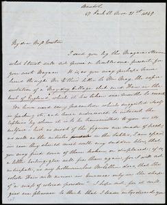 Letter from Emma Michell, 47 Park St., Bristol, [England], to Anne Warren Weston, Nov. 21st [- 23rd], 1849
