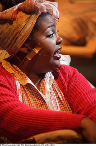 Performer singing Hip Hop Broadway: The Musical