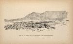 Vue de la ville de Cap (d'après une photographie)