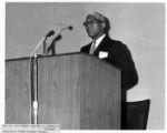 Belford V. Lawson Jr., speaker, May 31, 1961, Washington Forum Seminar Project.
