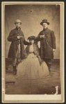 Jesse L. Berch, quartermaster sergeant, 22 Wisconsin Regiment of Racine, Wis. [and] Frank M. Rockwell, postmaster 22 Wisconsin of Geneva, Wis.