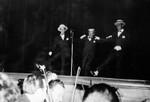 Joe Louis, George Murphy, and Frank Sinatra