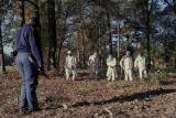 Chain gang at work in Alabama.