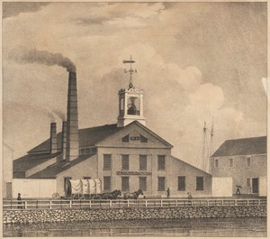 The Fulton Iron Foundry, (Geo. C. Thacher and Thacher & Billings, proprietors). On Turnpike St. So. Boston