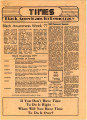 Times (Black Americans for Democracy (University of Arkansas, Fayetteville)); BAD Times; Black Americans for Democracy News