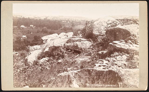 Fortifications on Little Round Top