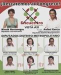 ¡Rescatemos al Congreso! Encuentro por Guatemala, vota así