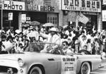 Parade through Korea-town