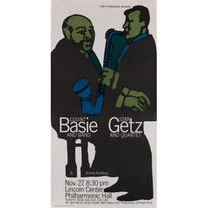 Count Basie and Stan Getz