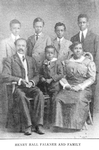 Henry Hall Falkner and family