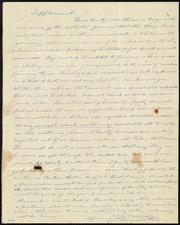 Letter to Anne Warren Weston] [manuscript