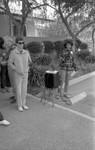 Jenifer Williams speaking at the 1986 y-Walk