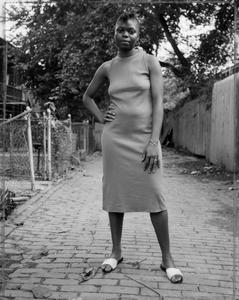 A Young Woman Between Carrolburg Place and Half Street, Washington, D.C.
