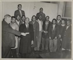 African-American employees receiving pensions