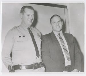 Abilene Police Sergeant Granvell Agnew and Lieutenant Dwain Pyburn