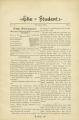 The Student, Volume 2, Issue 2, November 1889