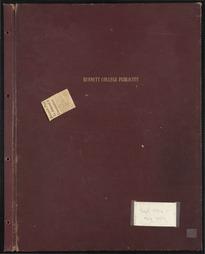 Bennett College Publicity Scrapbook [1956-1959] (Part 1)
