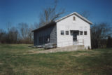 Cairo Rosenwald School: view of front and side