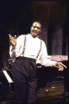 """Actor Delroy Lindo in a scene fr. the Playwrights Horizons' production of the play """"The Heliotrope Bouquet By Scott Joplin & Lous Chauvin."""" (New York)"""