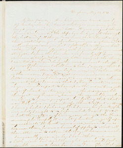 Thumbnail for Letter from Evelina A. S. Smith, Hingham, [Mass.], to Caroline Weston, May 23, 1841
