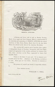 Letter from William Cooper Nell, Boston, [Mass.], to William Lloyd Garrison, February 22d, 1859