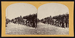 [Soldiers from the 134th Illinois Volunteer Infantry resting at Columbus, Kentucky]