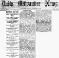 Negro suffrage in Wisconsin
