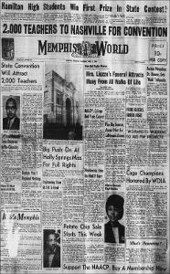 Memphis World, 1965 April 3rd