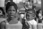 Watts Summer Festival: woman and child