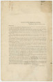 General Order Number 101 from the headquarters of the Third Military District in Montgomery, Alabama, outlining voting procedures for the election to ratify the state constitution held in February 1868.
