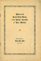Minutes of the Second Annual Meeting of the National Association of Negro Musicians, New York City, July 1920, with Florence B. Price Listed As a Member from Arkansas