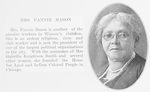 Mrs. Fannie Mason