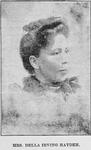 Mrs. Della Irving Hayden. Eminent Educator