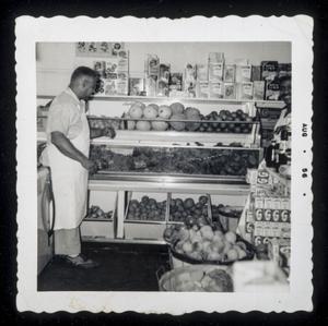 Almore Dale viewing fruit display