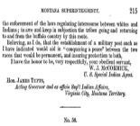Report of Colville Agency