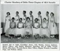 1953 Charter Members of State Teachers College Chapter of Delta Theta Chapter of Alpha Kappa Alpha Sorority