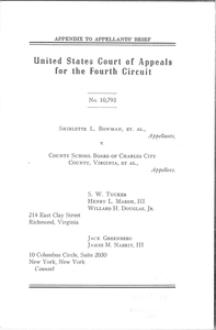 Appendix to Appellants' Brief