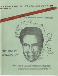 """""""African Liberation Day 1986"""""""
