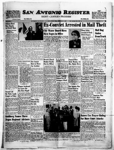 San Antonio Register (San Antonio, Tex.), Vol. 32, No. 18, Ed. 1 Friday, July 6, 1962 San Antonio Register