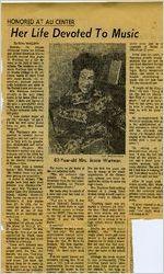 Atlanta University - Newspaper Clippings