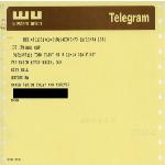 Telegram from Flint, Michigan resident to Mayor Kevin H. White