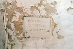 St. James A.M.E. Church cornerstone