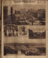 Photomontage of a view from the Capitol, Central High School students, a young boy, and views of the Cumberland River. Nashville Banner, 1926 December 5.