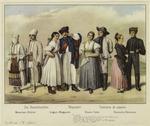 Various Peasant Costumes Of Europe