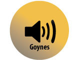 Audio recording clips of interview with Theron and Naomi Goynes by Claytee D. White, June 28, 2012, and July 12, 2012